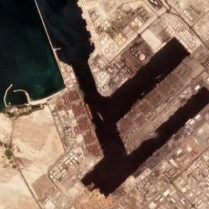 Explosão no Porto do Dubai após incêndio em navio porta-contentores